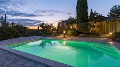 Photo for Beautiful property near Vaison and Nyons surrounded by a landscaped garden