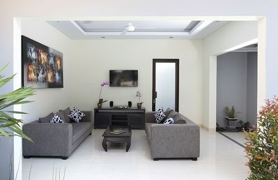 Living area Villa 2