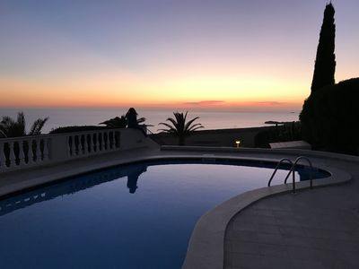 Photo for Stunning open views to the Mediterranean Sea.