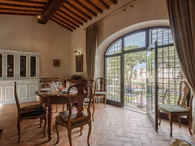 Photo for New flat with garden and panoramic terrace close to Ponte Vecchio
