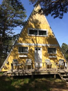 Photo for Beautiful A-frame, Beautiful views of the Cape Cod National Seashore