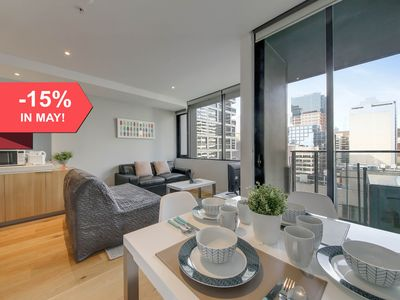 Photo for A Spacious & Cozy CBD Suite Near Southern Cross