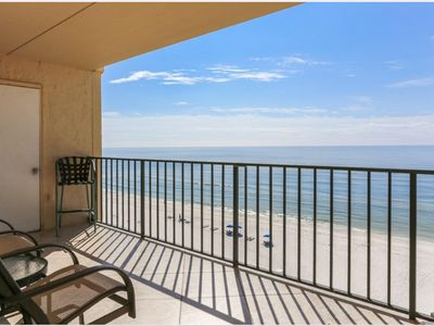 Photo for Awesome ocean front condo on beautiful white sand beaches in Perdido Key!
