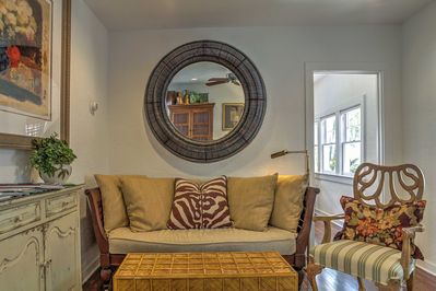 From the moment you first arrive, you will fall in love with the home's 1928 charm and many upscale features such as gorgeous hardwood floors, high-end furnishings, and tasteful interior decor.