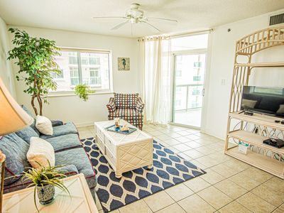 Photo for Ocean View Condo - Just Steps to the Beach, Pools & Lazy River!