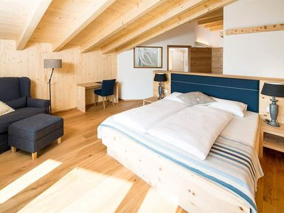 Photo for BIOSUITE with pine wood, sauna and balcony 4. Floor - Bio-Hotel Rupertus