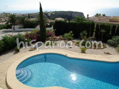 Photo for Benitachell villa with pool and sea views on the Costa Blanca