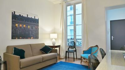 Photo for Large and modern 2 bedroom, 2 baths, central location, Haussmaniann Building