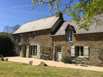 Photo for Beautifully renovated Longere in a rural setting with 7.5 acre private wood