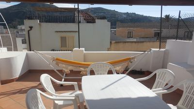 Photo for Stately Lipari penthouse 6 beds