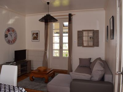 Photo for Apartment with free WIFI in the center of Perros-Guirec