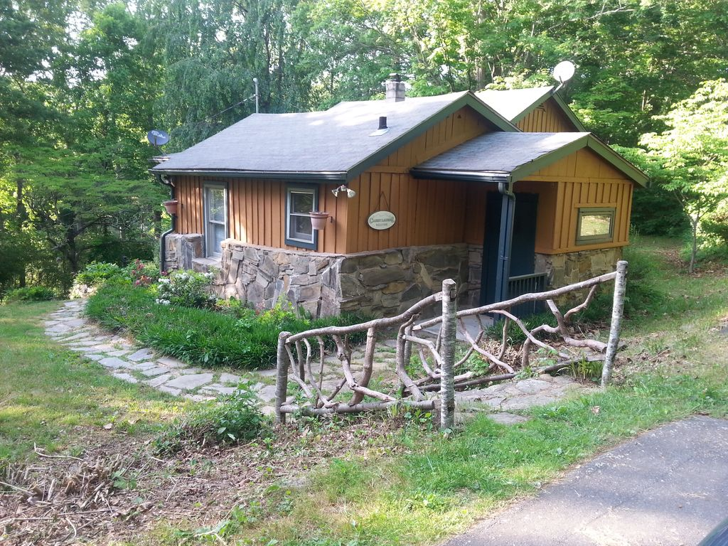 Cabin Laurel Secluded Convenience The Best Of Both