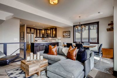 The Residences at Blackstone #3828 Living Area