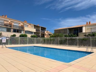Photo for T2 mezz 6 pers secure residence with pool Les Estivales