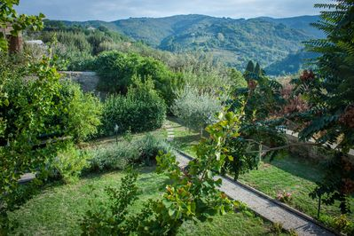 The view from the terrace where you'll have breakfast... or an aperitivo!