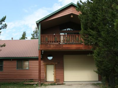 The Springs Cabin - Front View