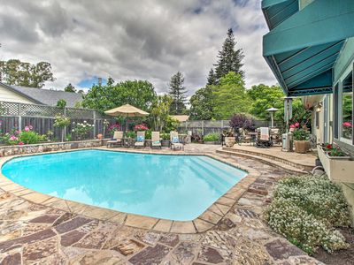 Photo for NEW-Charming Home w/Pool, At Foot of Wine Country!