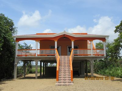 Photo for Newly built, 2 bedroom, 1 bathroom,  with view of beautiful Caribbean Sea.