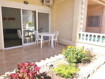 Photo for Reformed Ground Floor Apartment, Urb. La Siesta - Sleeps 2