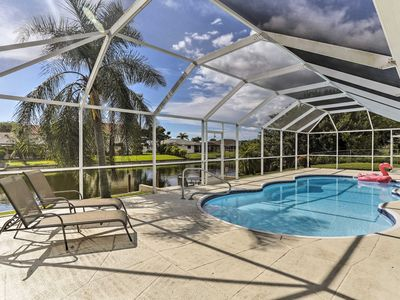 Photo for NEW! 'Nothing But Time' Canalfront Cape Coral Home
