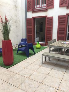 Photo for T2 apartment with terrace of 24 m2, Grand Bayonne, 4 people