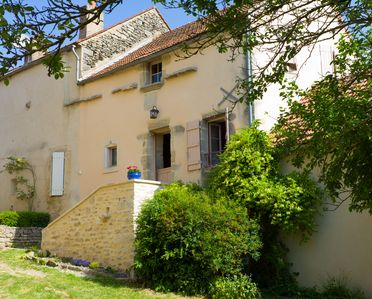 Photo for A quiet and comfortable house in a burgundy's medieval village