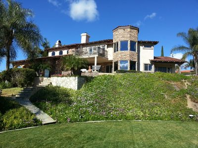 Photo for Wine Country Paradise -Magnificent Garden with Spectacular Valley View/pool