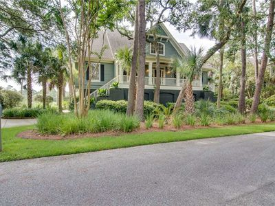 Photo for Golf + Marsh View | Multiple Porches | Wifi | 4 BR Kiawah Island Home