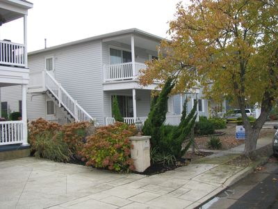 Side view of the  duplex
