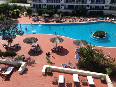 pool area/we supply passes for entry...