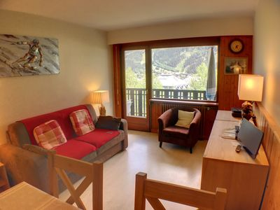 Photo for CHAMONIX APARTMENT SLEEPS 4 WITH PARKING NEXT TO THE SAVOY/BREVENT