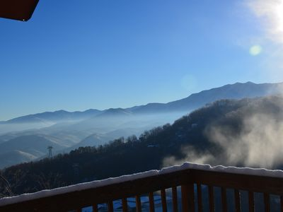 Photo for Top Of The World: Cabin W/ Incredible Views Of Mntns, Parks & Ski Slope