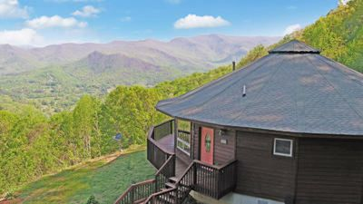 Photo for Breathtaking mountain views from pet friendly house in equestrian community