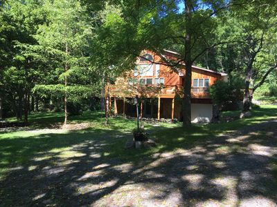 Photo for Private 3-acre 3br3ba w/Lake Access off Wine Trail