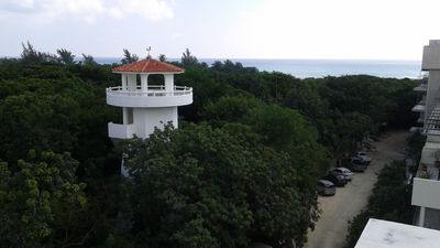 Photo for One and a half blocks to the best beach in Playa del Carmen 2br top floor condo