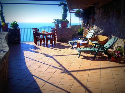 Photo for Villa Arora with Private Pool, Terrace, Sea View and parking near Positano