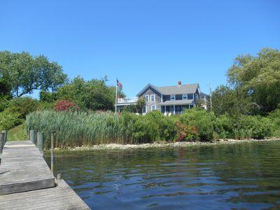 Photo for Classic Waterfront Summer Home with Private Dock