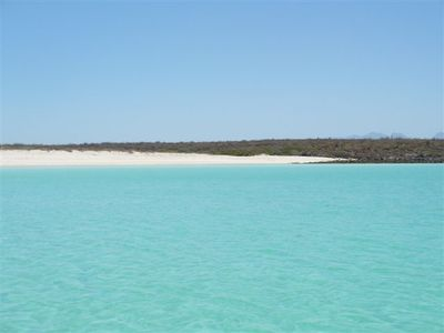 White sand beaches at islands.  A fun day trip from the Marina. Snorkeling.