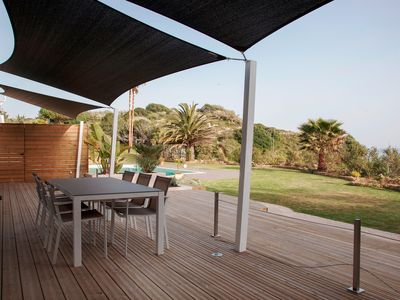 Photo for Luxurius 3 bedroom apartment front sea in Albufeira