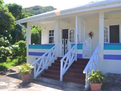 Photo for Keegan's Cottage JACARANDA - Bequia