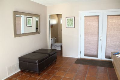 Front entry and 1/2 bath.
