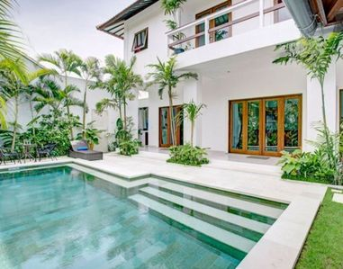 Photo for 15 mnts walk to Beach, 3 BR Lumina Villa @Seminyak