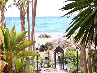 Photo for In the best beach in Marbella :). Internet 300mbps