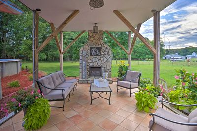 Unwind and breath in the fresh air at this Waxhaw studio!