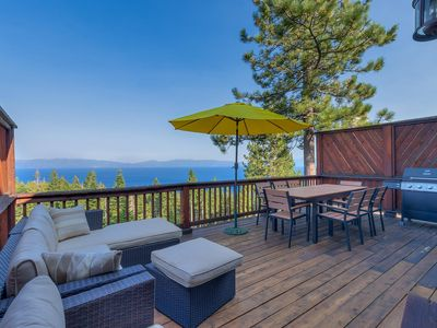 Photo for Crystal View - 3 BR Lake View Home in Tahoe City with Tahoe Park HOA