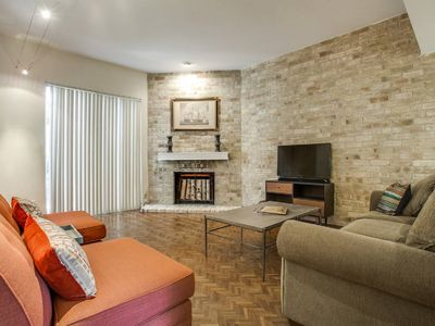 Photo for Relaxed Uptown Dallas Townhouse : On Katy Trail near SMU
