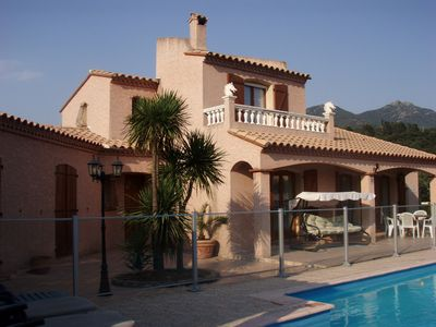 Photo for Attractive holiday villa with private pool