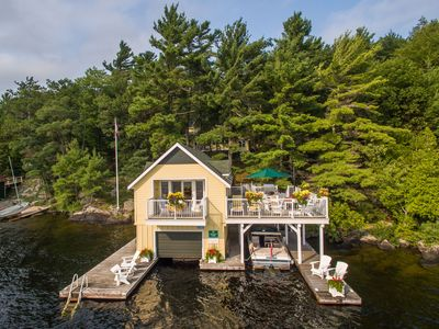 Photo for Belleview Keewaydin Island~Perfectly restored Cottage, Boathouse & Bunkie