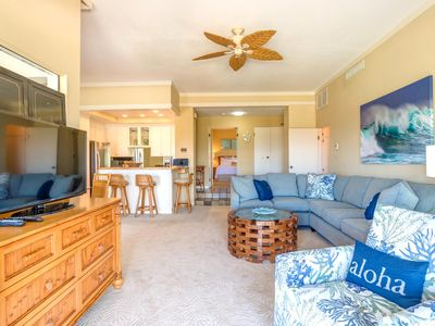 Photo for K B M Hawaii: Ocean Views, Large Bedrooms 2 Bedroom, FREE car! May & Jul Specials From only $229!