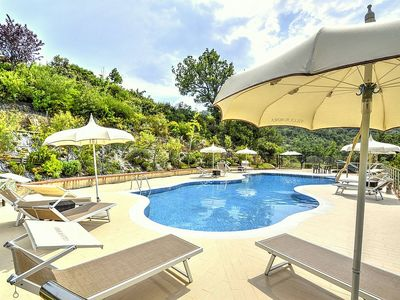 Photo for One bedroom Villa, sleeps 4 in Laureana Cilento with Pool, Air Con and WiFi